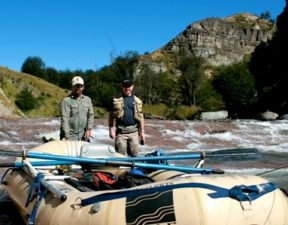 Southeastern Anglers fishing in Patagonia